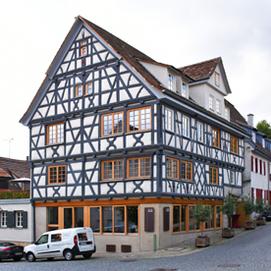 Wohnstätten Sindelfingen sanierte Fachwerkhäuser