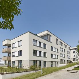 Wohnungsbau Ludwigsburg Sonnenberg Fotografie Dietmar Strauß, Besigheim